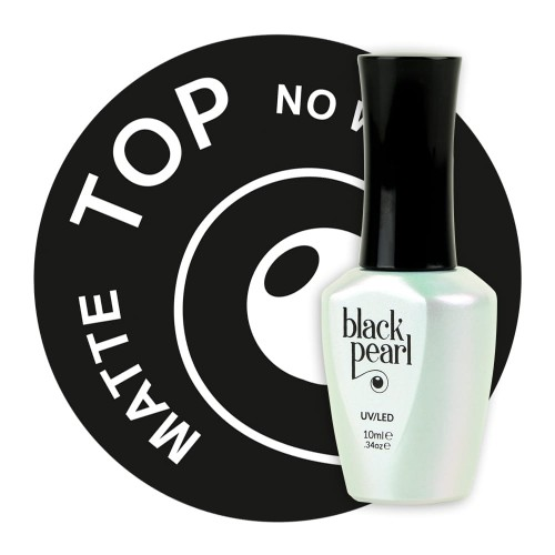 TOP MATTE no wipe Black Pearl